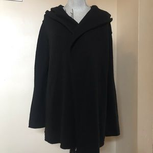 VINCE cardigan with hood size large